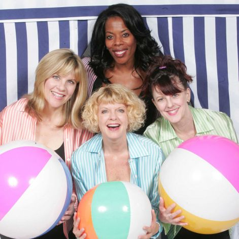 The new musical at the Norma Terris Theatre in Chester, The Bikinis. stars (clockwise from the top) Regina LeVert, Meghan Duffy, Karyn Quakenbush and Lori Hammel. The show follows the reunion of four women who had a pop singing group on the Jersey Shore in the 1960s. The show is running from Aug. 9 to Sept. 9. Photo: Contributed Photo / Connecticut Post Contributed